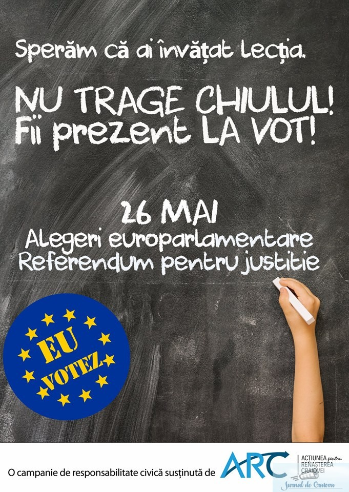 ARC lanseaza o campanie de incurajare a mersului la vot in randul tinerilor 3