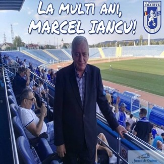 Fotbal : Fotbalul ar fi mai sarac fara Marcel Iancu ! La multi ani Domnule Presedinte ! 1