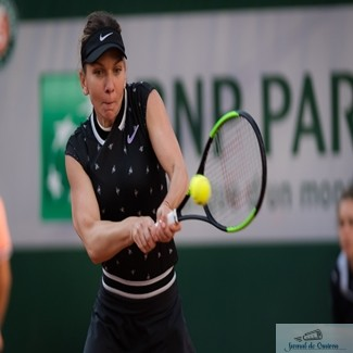 Tenis : Simona Halep s-a calificat fara emotii in optimile de finala ale turneului de la Roland Garros. 1
