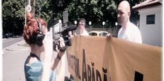 Dide nu ramane indiferent la abuzurile Jandarmeriei ! Protest spontan la Inspectoratul General al Jandarmeriei !