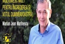 Europarlamentarul Marian Jean Marinescu : Va multumesc in primul rand tuturor pentru incredere!