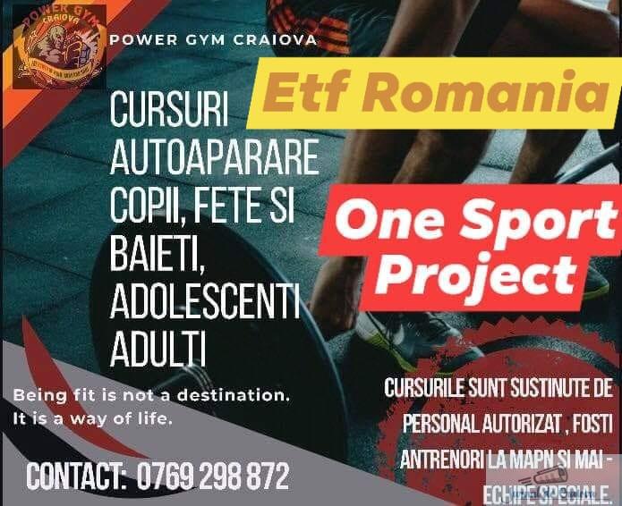 Kickbox : Ionut Puca lanseaza One Sport Project ! Cursuri de autoaparare pentru TOTI !