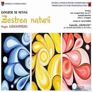 Expozitia de pictura Zestrea naturii, vernisata la Galeriile Cromatic