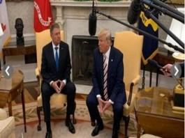 La Casa Alba, Donald Trump si Klaus Iohannis au scris istorie pentru relatiile SUA-Romania.