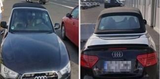 Trei autoturisme si o remorca cautate de autoritati, descoperite la frontiera