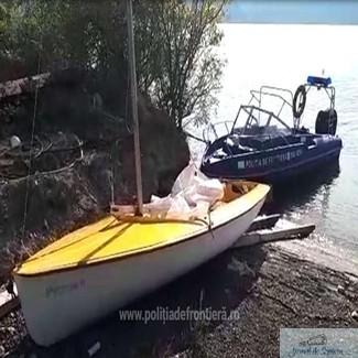 Cetatean elvetian in pericol pe fluviul Dunare, sprijinit de politistii de frontiera