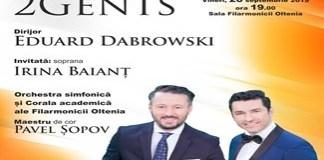 Filarmonica Oltenia Craiova : SYMPHONY FOR LIFE - 2 GENTS