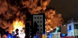 Incendiu intr-o uzina chimica din Franta ! Se poate intampla si la fabrica din Podari daca se construieste ??