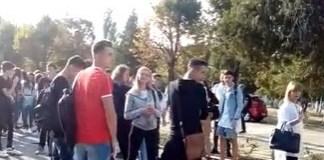 A venit randul elevilor sa protesteze! Colegiul Stefan Odobleja a oprit cursurile ..