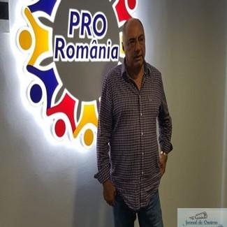 Antonie Solomon, candidatul Pro Romania la Primaria Craiova