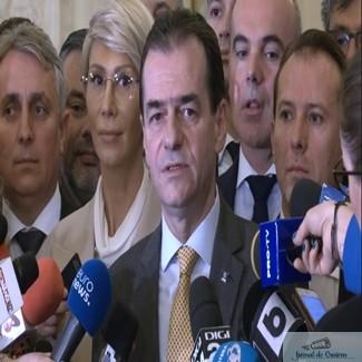 Guvernul Orban da primul test in fata Romaniei, dar si a Parlamentului: votul pentru investire. Trece sau nu trece?