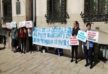 Protestul cadrelor didactice din Colegiul Stefan Odobleja continua ..