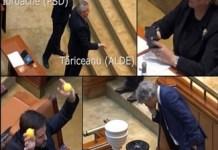 VIDEO Ce nu s-a vazut la TV in ziua cand PSD a picat de la Guvernare