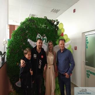 La multi ani , Ionut Puca ! Mult succes in proiectele Scorpions Power Gym si One Sport Project !