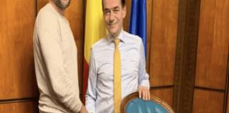 """Razvan Stefanescu,soferul cu """"placutele suedeze"""" s-a intalnit cu premierul Orban la Palatul Victoria!"""