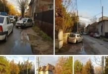Accident pe strada Campia Islaz . Soferul autoturismului avea 17 ani ..