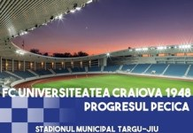 Fotbal : Universitatea Craiova intalneste ACS Progresul Pecica la Targu Jiu ..