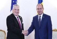 Adrian Zuckerman, noul ambasador al SUA in Romania si Bogdan Aurescu au discutat despre eliminarea vizelor pentru romani
