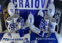 Fotbal : Universitatea Craiova a reusit sa se impuna cu magazinul clubului in topul cluburilor din tara ..