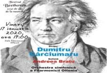 Concert Beethoven la Filarmonica Oltenia Craiova