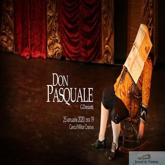 Don Pasquale, o reprezentatie speciala la Craiova