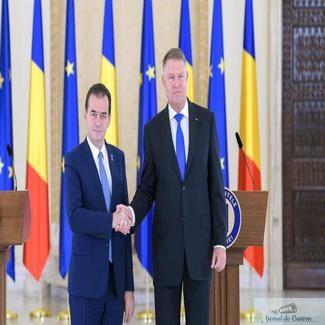 Guvernul Orban 2 a primit votul de investire al Parlamentului .. Klaus Iohannis decreteaza stare de urgenta de luni