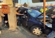 Accident cu doua victime pe strada Raului