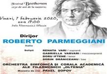 Filarmonica Oltenia Craiova : Missa in Do major de Beethoven sub bagheta lui Roberto Parmeggiani