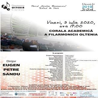 Filarmonica Oltenia Craiova : Concert coral in Parcul Romanescu