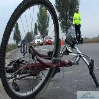 Biciclist accidentat mortal in Catane