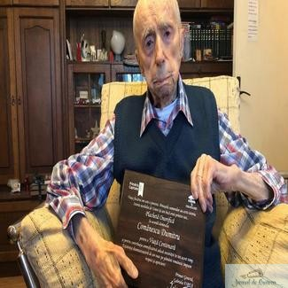 Romanul declarat cel mai varstnic barbat din lume s-a stins din viata la 111 ani