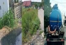 Video : Cum functioneaza canalizarea din Podari . Afla unde Angajatii Companiei de Apa Oltenia arunca resturile menajere