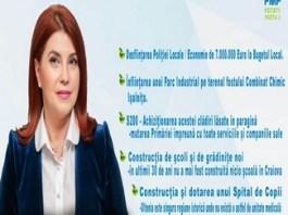 """ANIȘOARA STĂNCULESCU, candidat PMP la Primăria Craiova: """"Am soluții viabile pentru transportul și distribuția energiei termice în Craiova"""""""