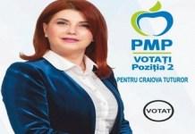 Anișoara Stănculescu, candidatul PMP la Primăria Craiova: APEL CĂTRE CRAIOVENI!