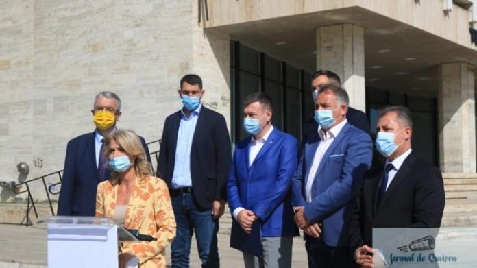 """PNL Dolj : Proiectele de dezvoltarea a Doljului, prioritate zero pentru PNL Teatrul Naţional """"Marin Sorescu"""" din Craiova va beneficia de o investiţie de 18,5 milioane de euro 1"""