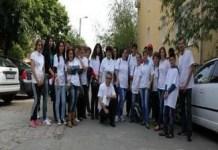 Angajatii Caminului pentru Persoane Varstnice Craiova continua sa faca campanie pentru PSD