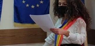 Adela Gherghe a depus juramantul si este oficial PRIMAR al Comunei Malu Mare!