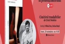 Eveniment online : Cimitirul trandafirilor - lansare de carte la Gaudeamus
