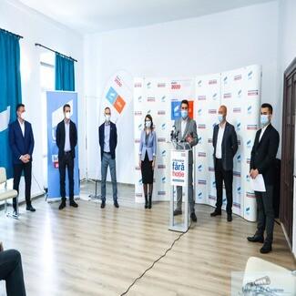 Alianța USR PLUS Dolj si-a prezentat Programul de Guvernare și candidații pentru alegerile Parlamentare, din 6 Decembrie 2020.