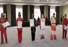 WUSHU KUNG-FU : 27 Medalii de aur, 26 Medalii de argint și 17 Medalii de bronz