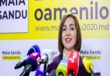 Maia Sandu, președintele Moldovei, și-a declarat sprijinul pentru Partidul National Liberal la alegerile din România