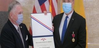 Nicolae Ciucă, decorat cu Legiunea de Merit a Statelor Unite: Este cea mai înaltă distincție americană care poate fi acordată unui militar străin