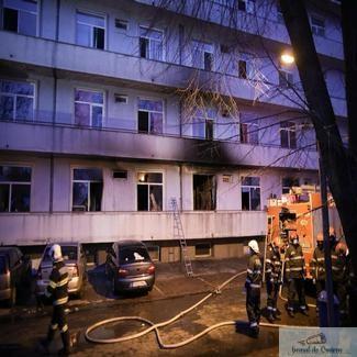 Alţi doi pacienţi transferaţi după incendiul de la Matei Balş au murit. Bilanţul ajunge la 14 decese.