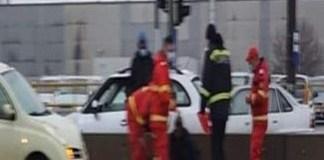 Accident in Craiova ! O femeie a ajuns la spital, după ce a fost lovită de o maşină, pe trecerea de pietoni
