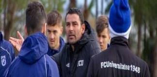 Fotbal : Eugen Trica pregateste meciul cu Farul Constanta la Severin ..