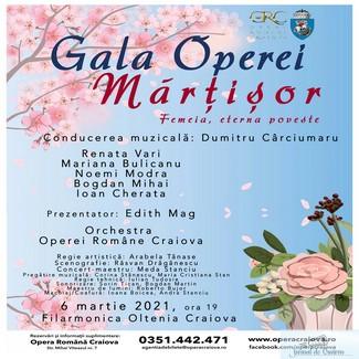 Mărțișor muzical la Opera Craiova