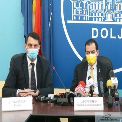 Presedintele PNL Dolj, deputatul Stefan Stoica : Domnul presedinte Orban a fost si este un sustinator al tuturor investitiilor importante in judetul Dolj