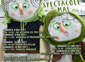 Zâna Tăiețeilor și Prințul Broască ne așteaptă în week-end la Teatrul Colibri!