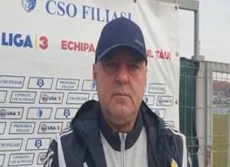 Florin Spânu ,Presedinte CSO Filiasi : Suntem favoriţi la accederea în barajul 2