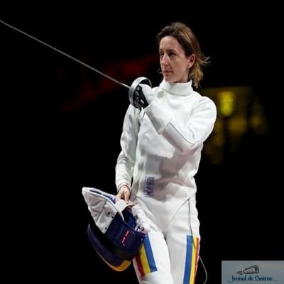 Ana Maria Popescu a luat argintul la spadă și aduce prima medalie a României la Olimpiadă